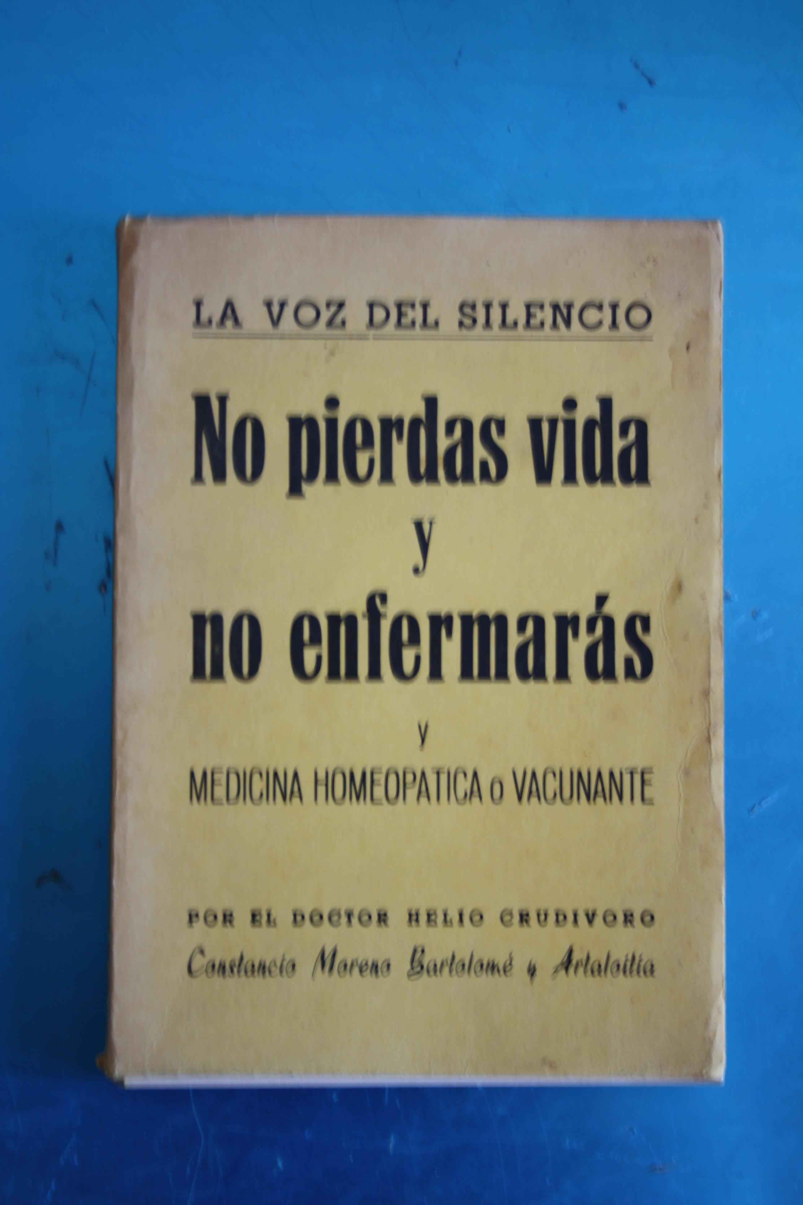 Portada de uno de los libros de don Constancio Moreno Bartolomé