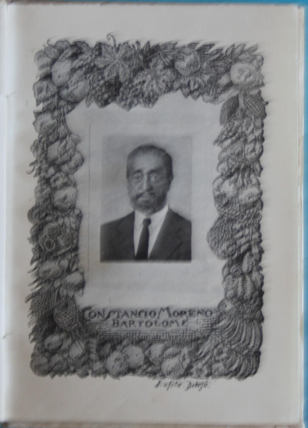 Una fotografía de don Constancio